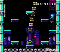 Mega Man 9 Fake Man stage screenshot