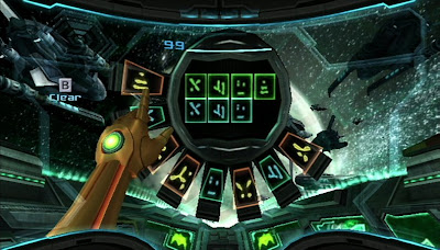 Metroid Prime 3 screenshot: Gunship interior