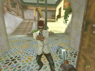 No One Lives Forever screenshot: Fighting a Moroccan thug
