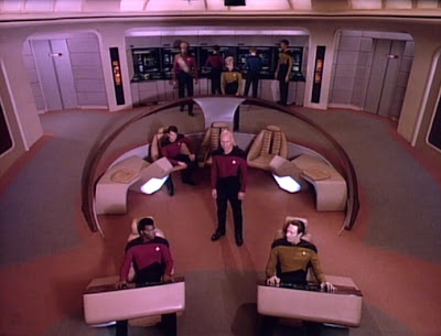 Enterprise-D bridge