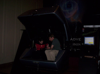 Star Trek: The Exhibition simulator ride exterior
