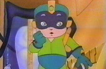 Green Mega Man from Captain N: The Game Master