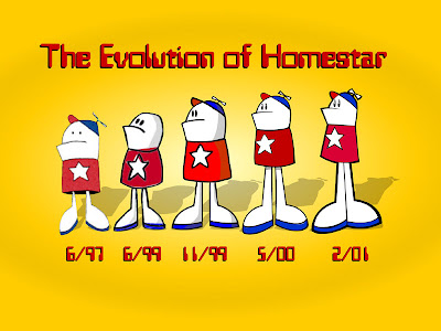 The evolution of Homestar Runner