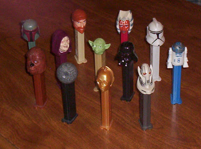 Star Wars PEZ dispensers