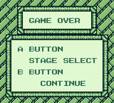 Game Over screen from Mega Man III