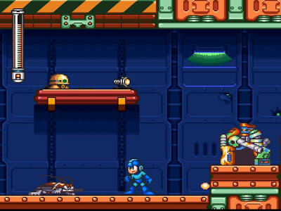 Mega Man 7 Review (SNES) MM7+Objects