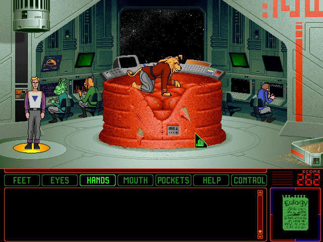 Exfanding Your Horizons Review Space Quest 6 Roger Wilco In The