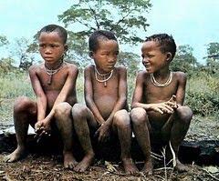 Crianças Bochimanes