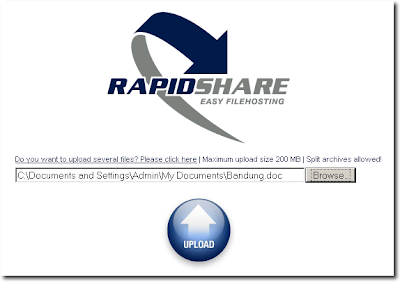 How To Get Free RapidShare Premium Account - 1