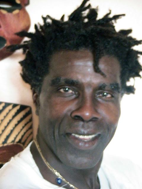 """THE BLACK PRINCE"" ROBBY ROBINSON AT 62, VENICE CA 2008 ● www.robbyrobinson.net/motivation.php ●"