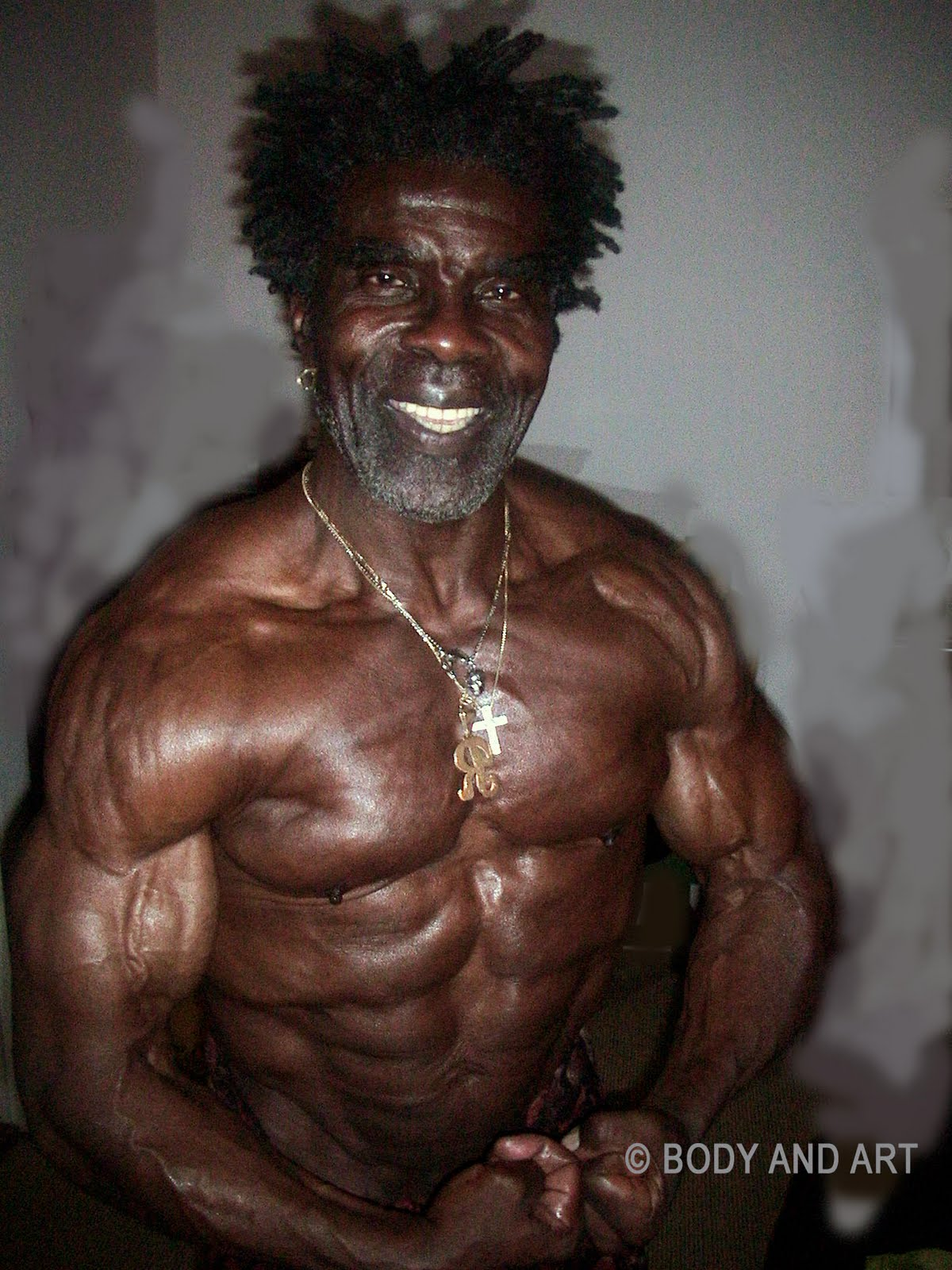 ROBBY ROBINSON AT 64, FIRST MR OLYMPIA MASTERS 1994