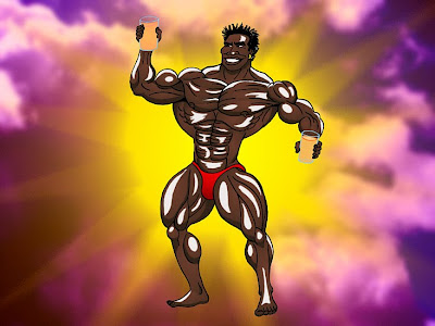 ROBBY ROBINSON'S  DIET - PRE-WORKOUT ENERGY DRINK FOR HEAVY TRAINING DAYS BODYBUILDER ROBBY AND HIS SUPPLEMENTS -  MUSCLE ANIMATION BY ART BINNINGER Robby's dietary anabolic SUPPLEMENTS, OILS and HERBS for natural fat loss  and muscle growth at any age ▶  www.robbyrobinson.net/anabolic-pack.php