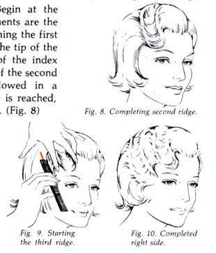 Finger Wave Pin Curls