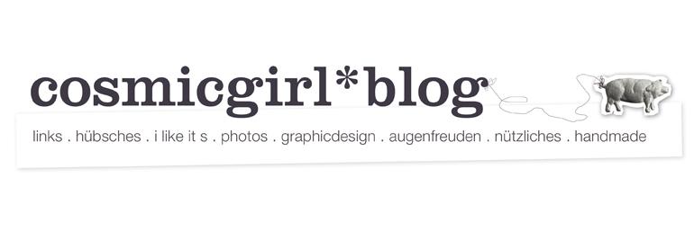 cosmicgirl*blog