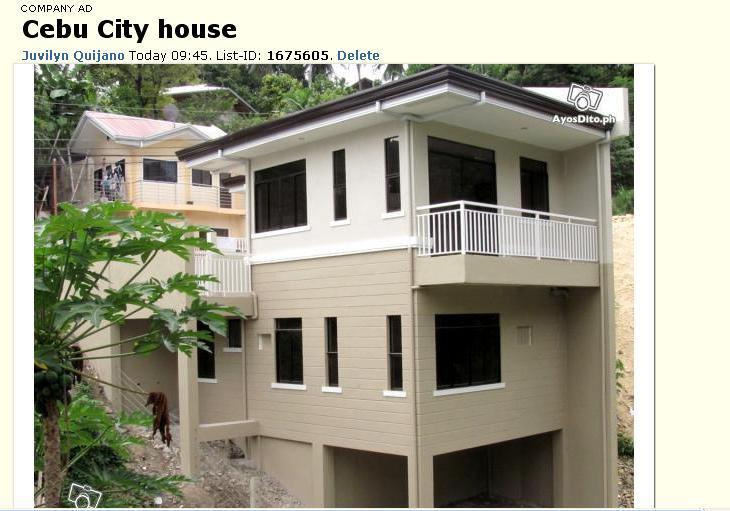 Ayos Houses at AyosDitoph  Mr Tambay