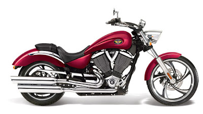 2011 Victory Motorcycle Vegas Series Solid Crimson