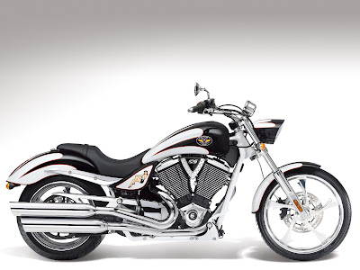 2011 Victory Motorcycle Vegas Series Pearl White