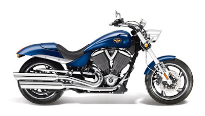 2011 Victory Hammer Solid Imperial Blue Metallic