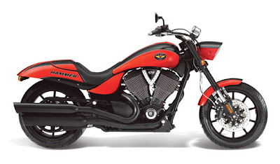 2011 Victory Hammer S Red
