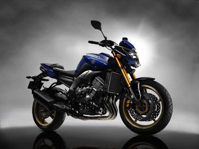 2011 Yamaha FZ-8 Blue