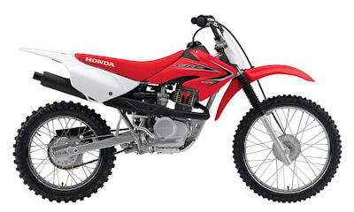 2011 Honda CRF100F Enduro-Red