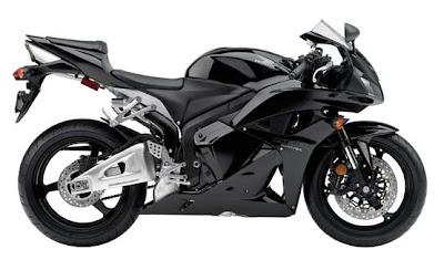 2011 Honda CBR600RR black