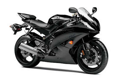 2011 Yamaha YZFR6 Metallic Black