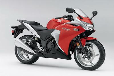 2011 Honda CBR250R Red