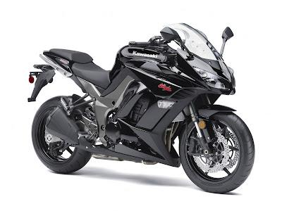 2011 Kawasaki Ninja Z-1000 metallic black