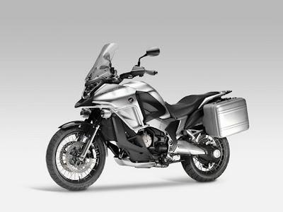 2011 Honda V4 Crosstourer Concept Silver