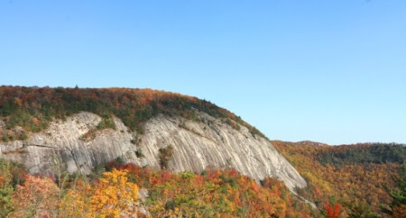 Rock Face View from Bald Rock Community