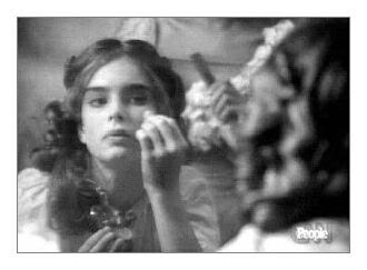 Grab the Champagne!: Young Brooke Shields