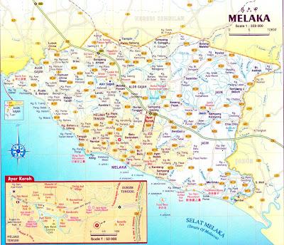 :: Peta Melaka ::