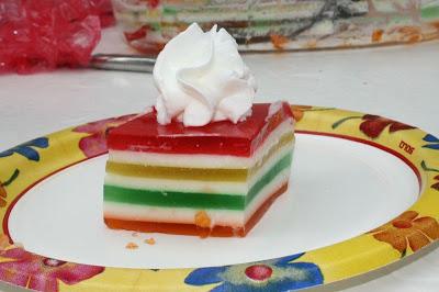 7 layer jello