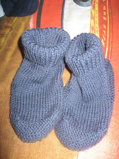 Free Knitting Patterns For Bed Socks On Two Needles : BED SOCKS KNITTING PATTERN 2 NEEDLES   KNITTING PATTERN