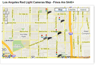 Gardena California Extends Red Light Camera Contract