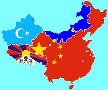 China, Inner Mongolia, East Turkistan, and Tibet
