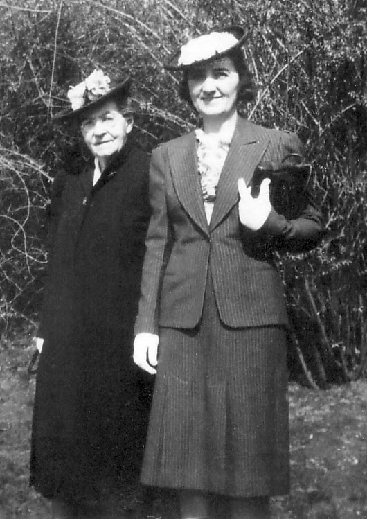 Katherine carr 1865 1951 and mary frances kennedy 1898 1982 circa
