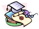 diploma, graduation cap, graduate school