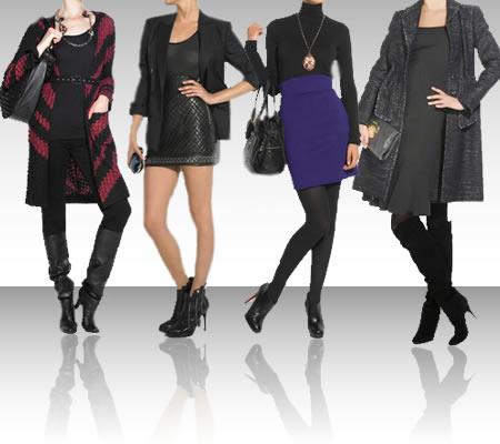 botas com vestidos meias adequadas Inverno chegando.. como usar as botas?