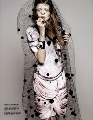 Abbey Lee Kershaw for Vogue Korea April 2010 by Rafael Stahelin