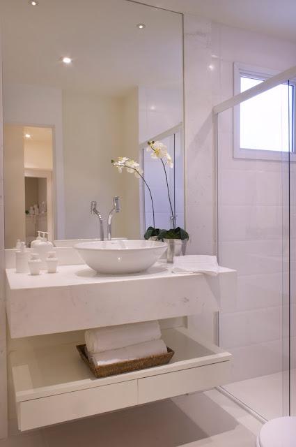 Fui Morar Numa Casinha Banheiros decoração X utilidade -> Gabinete De Banheiro Etna