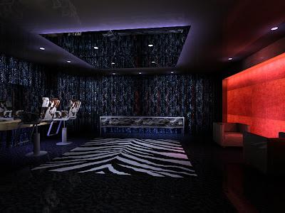 Interior lighting design vip salon consultancy room in leeds for Vip room interior design