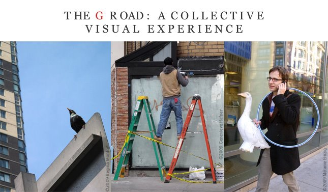 THE G ROAD : A COLLECTIVE VISUAL EXPERIENCE