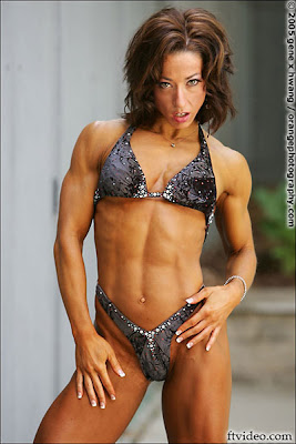 Female Bodybuilder and Figure Competitor - Jodi Leigh Miller
