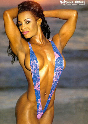 Female Fitness Model and Competitor - MaDonna Grimes