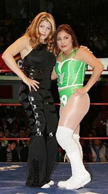 Luchadora - Princesa Blanca