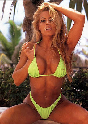 Former Fitness Competitor - Trish Stratus