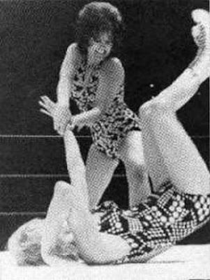 Female Pro Wrestling - Donna Lemke