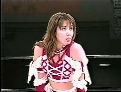 Mima Shimoda - japanese girl wrestling